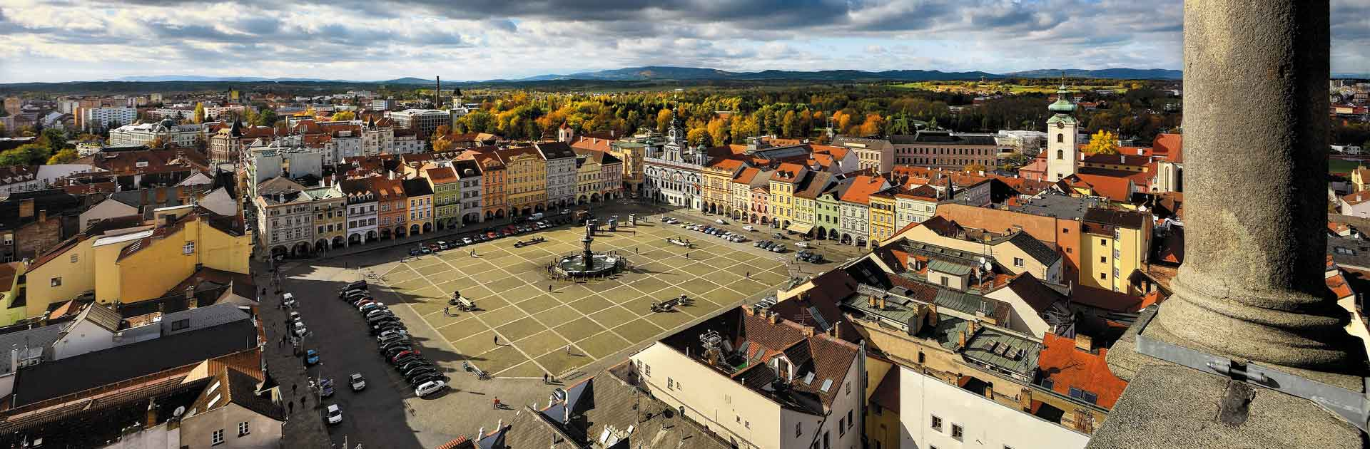 České Budějovice rameno Malše