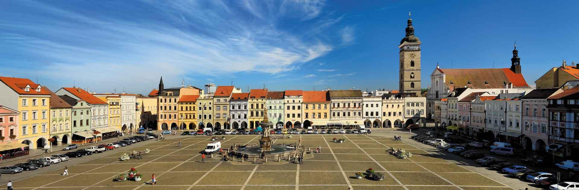 Náměstí Přemysla Otakara II., České Budějovice